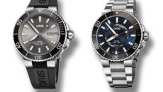 Limited edition Hammerhead and Staghorn divers watches from Oris.