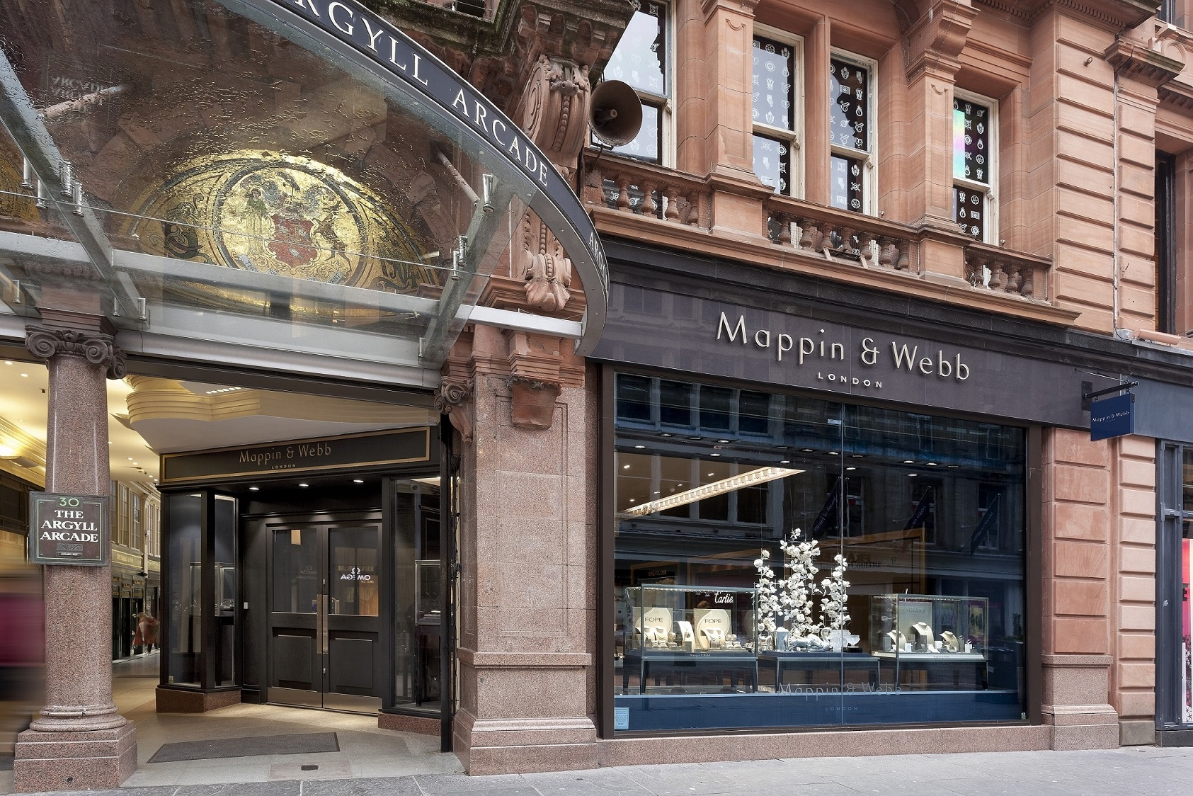 The Mappin & Webb showroom in the Argyll Arcade (2)