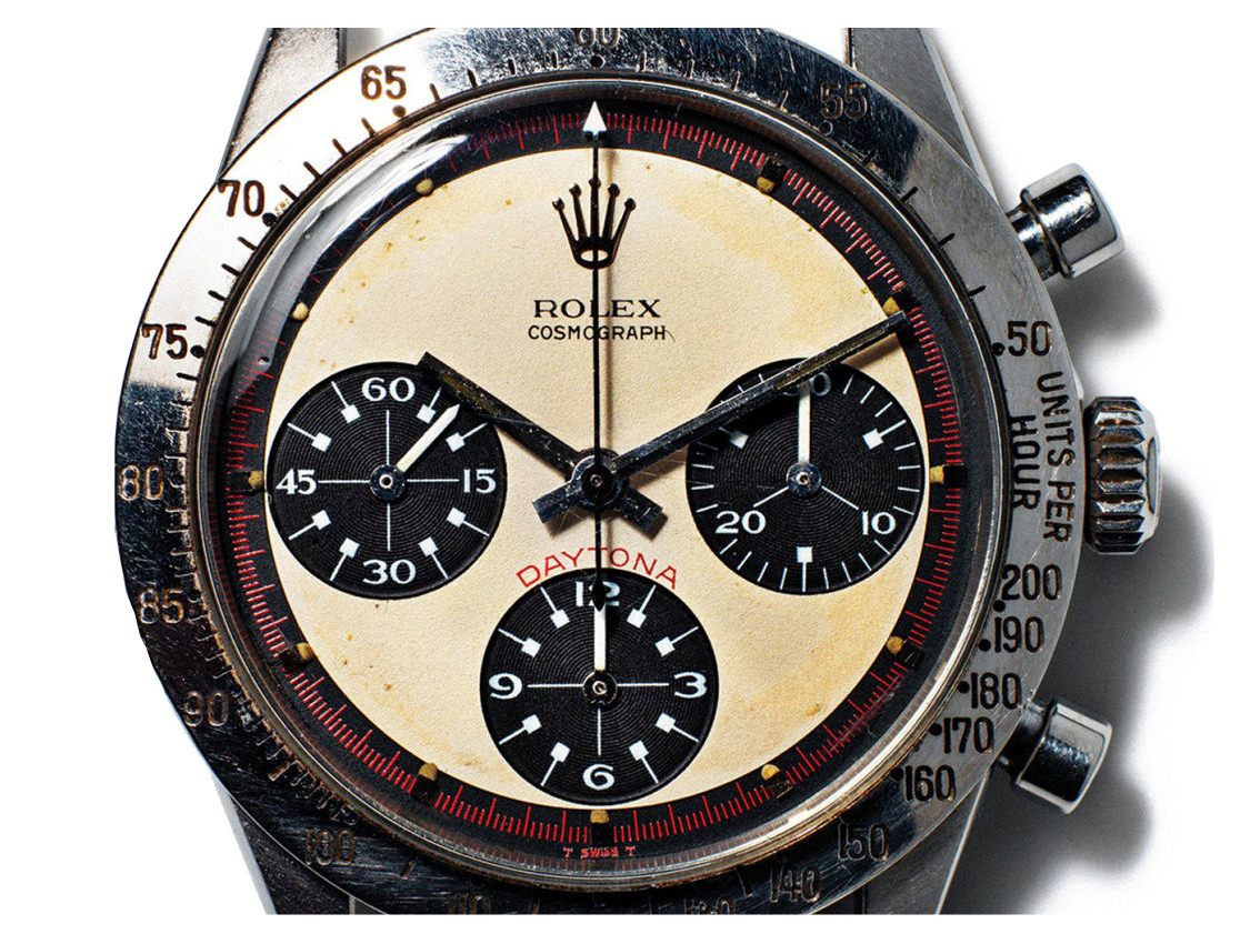 Paul Newman's Rolex Daytona that sold earlier this year.