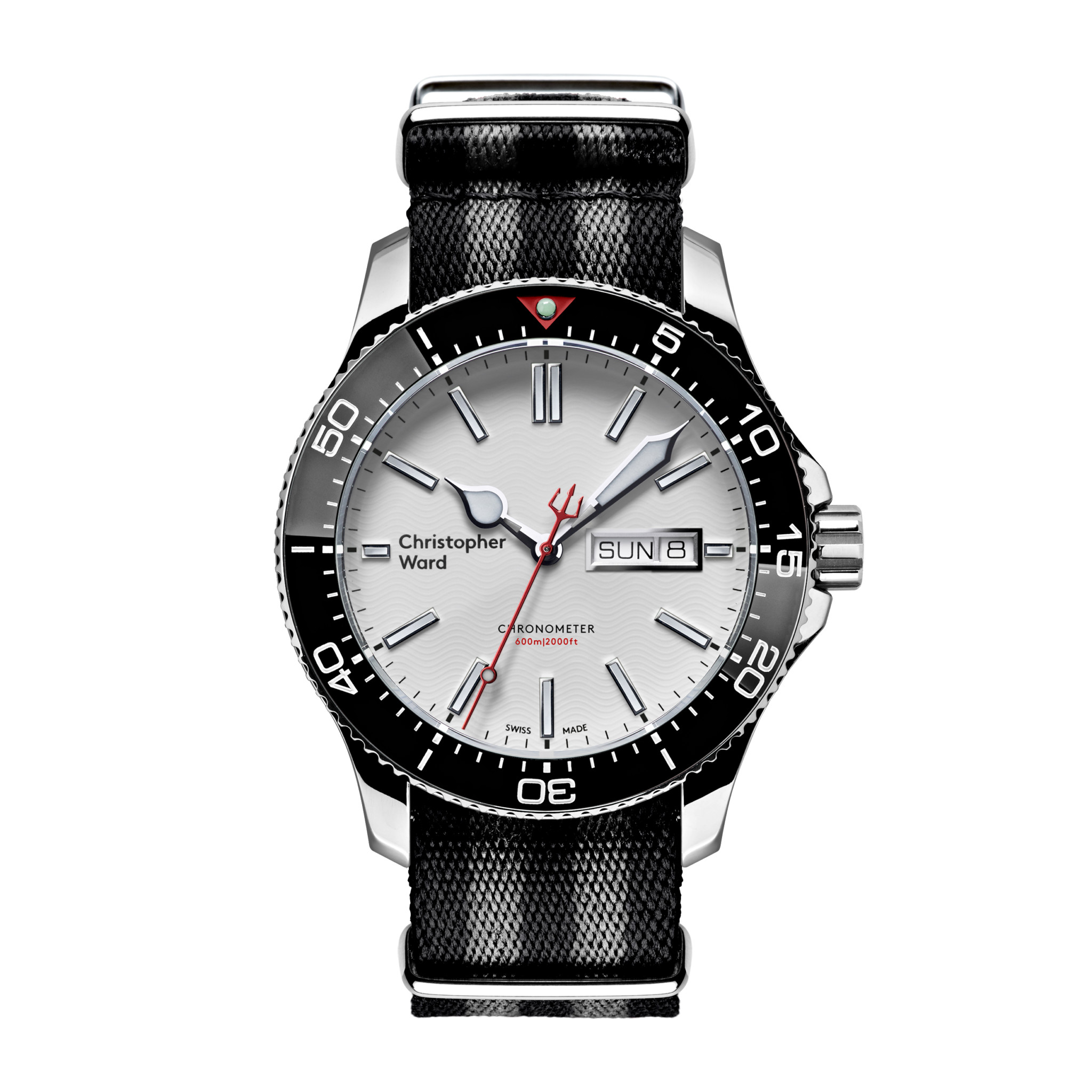 Christopher Ward C60 TRIDENT LIMITED EDITION front