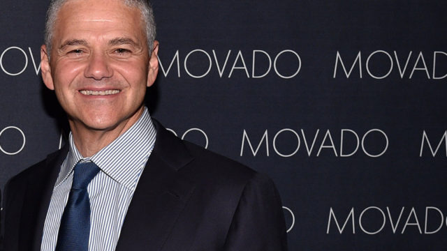 Movado CEO and chariman Efraim Grinberg.  (Photo by Bryan Bedder/Getty Images for GQ)
