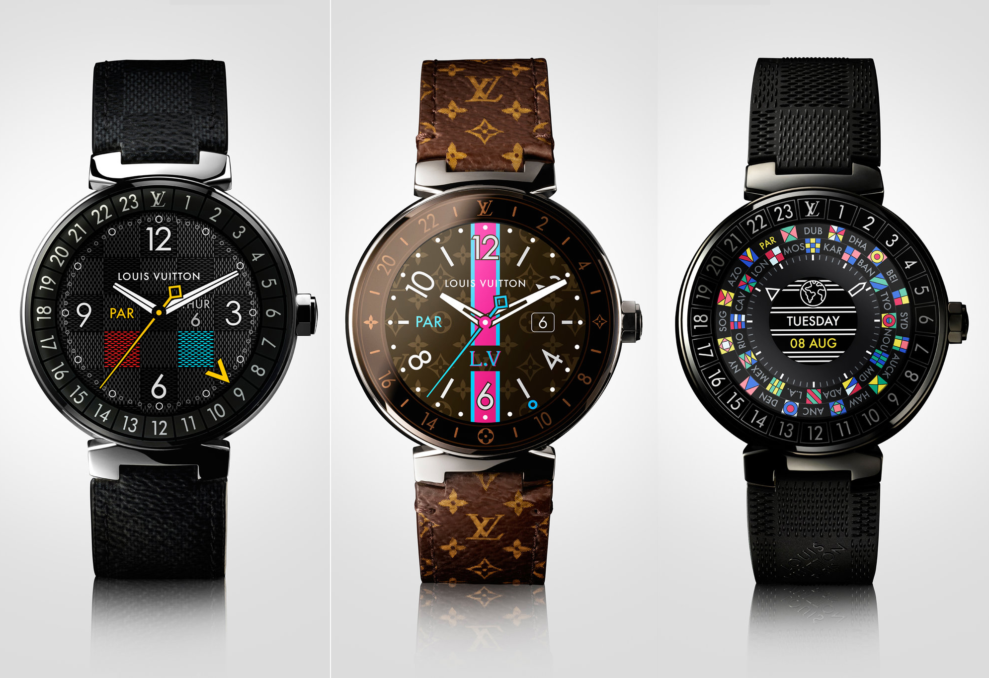 Louis Vuitton Android Wear Smartwatch Costs $2450
