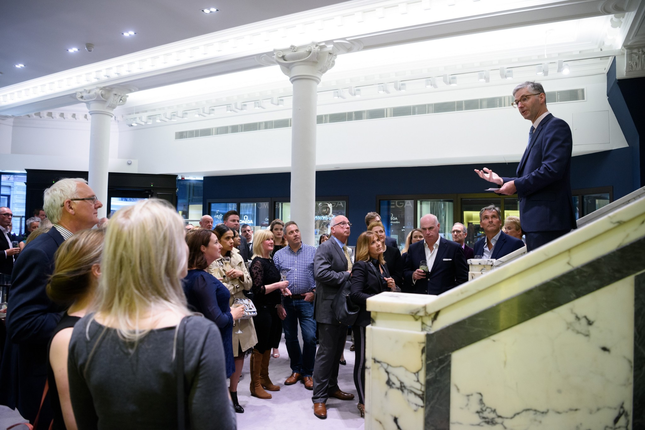 Mappin & Webb Glasgow boutique manager Jamie Fraser's speech