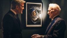 George Clooney and Buzz Aldrin