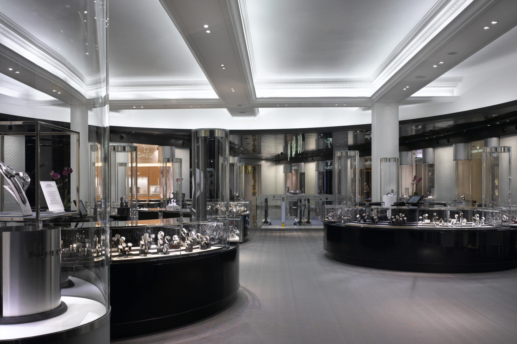 The current Fine Watch Room at Harrods.