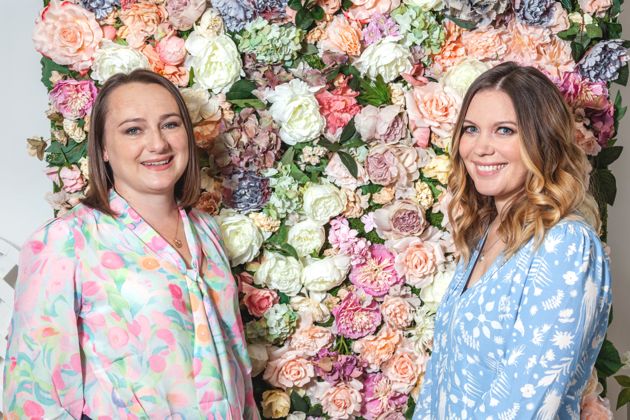 Olivia Burton co-founders Lesa Bennett and Jemma Fennings.