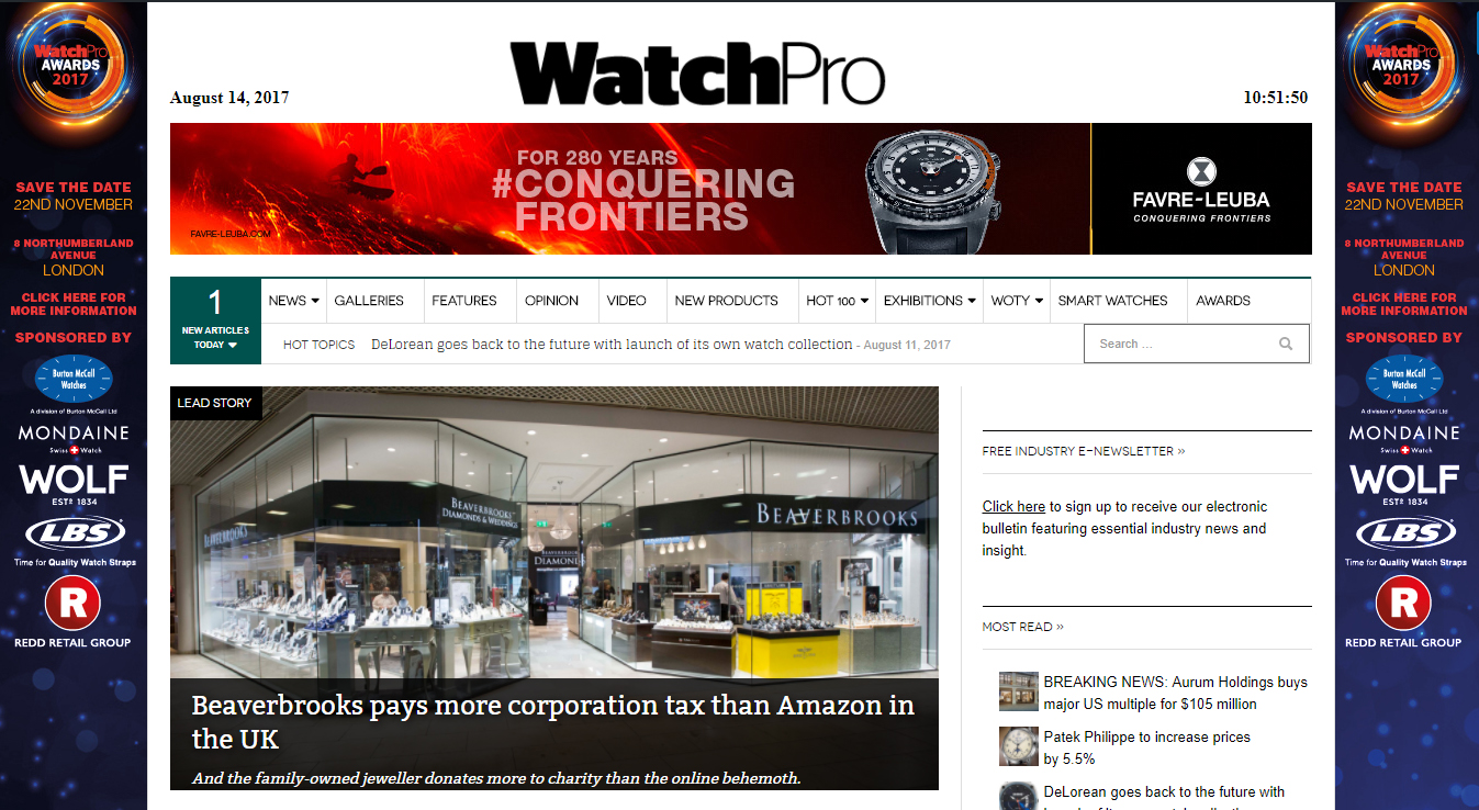 watchpro_com screen
