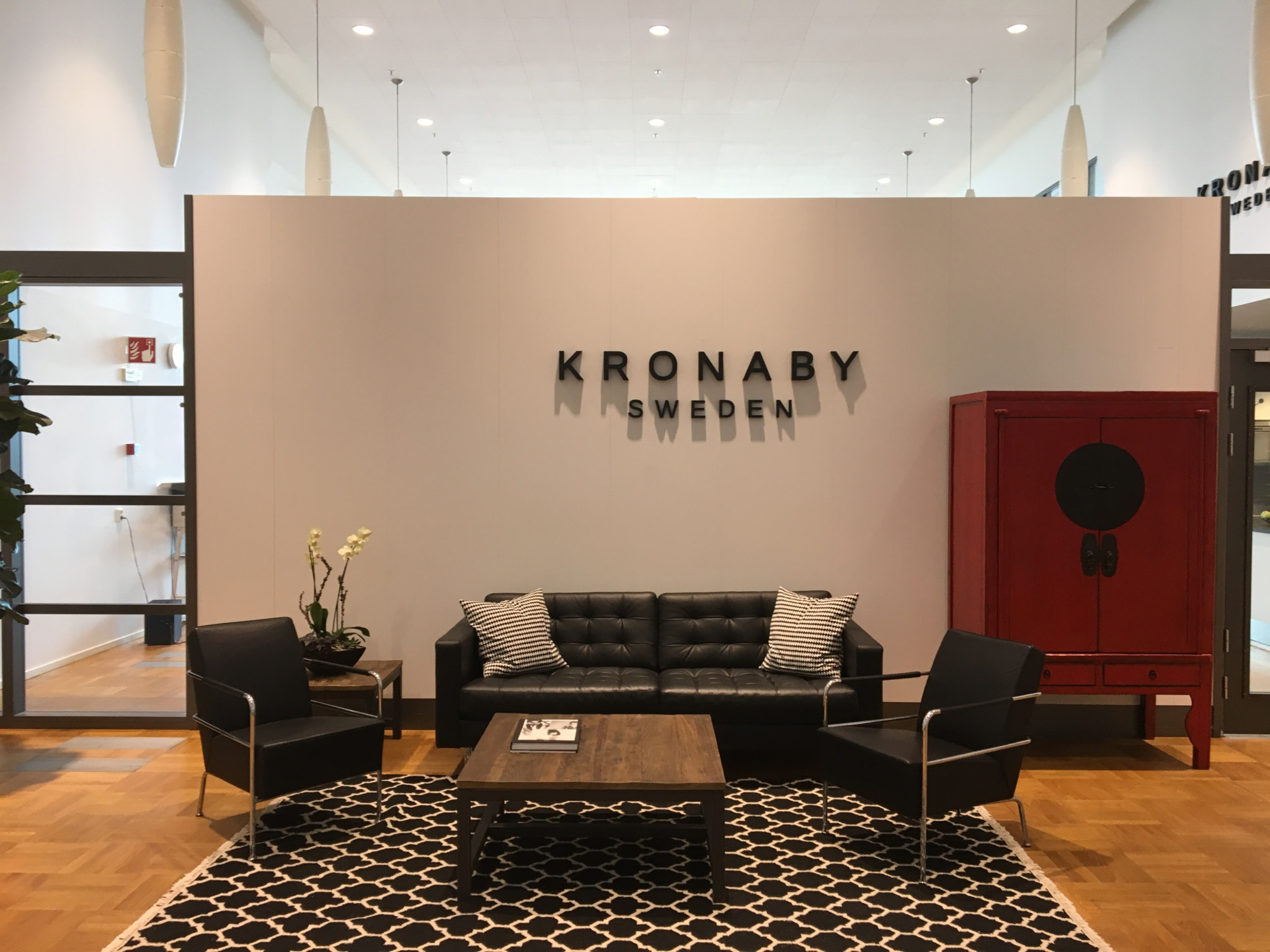 Kronaby is located in a building that previously housed a submarine maker.