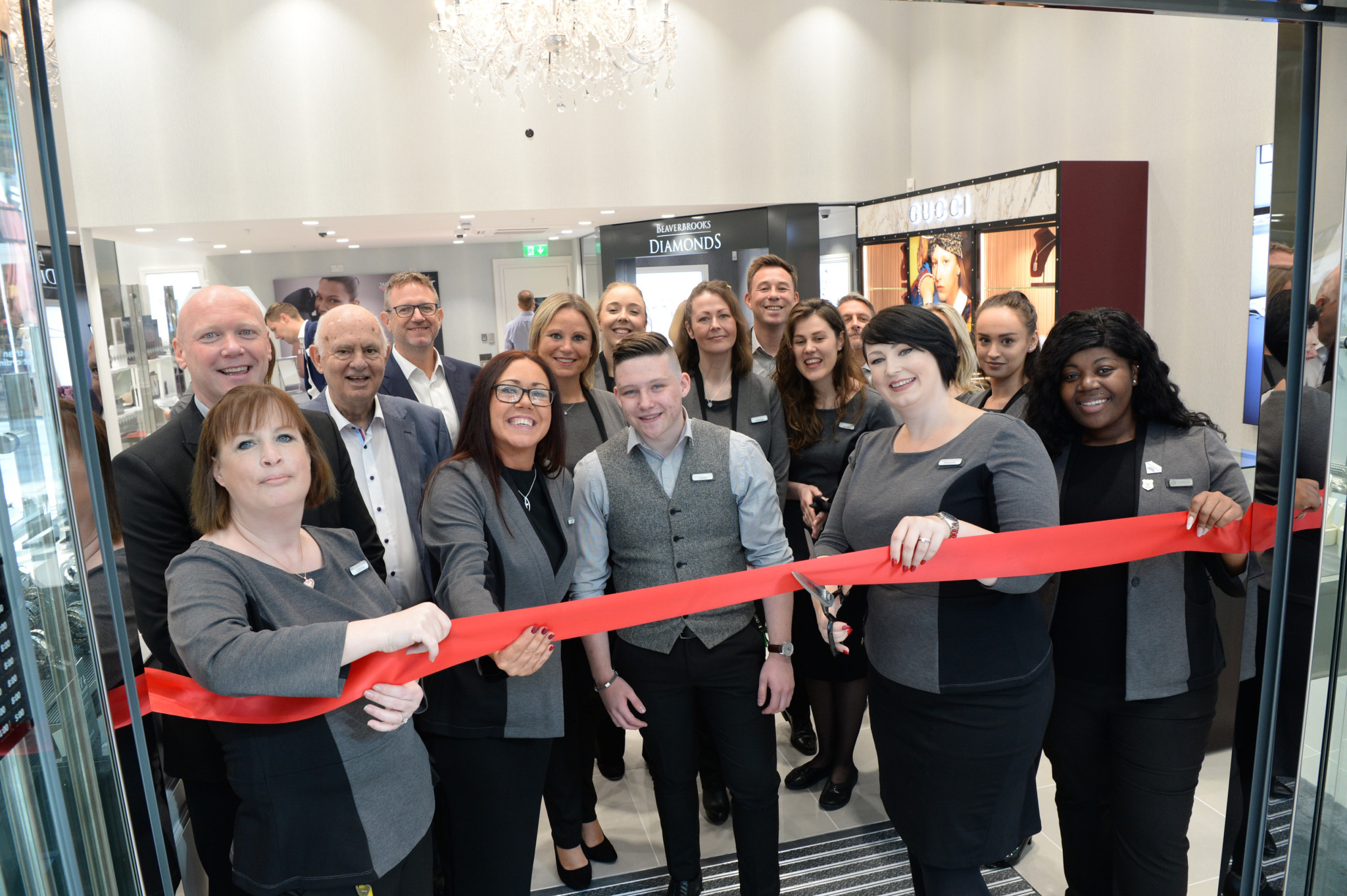 The Bracknell store opened as an anchor tenant at the new Lexicon shopping centre.