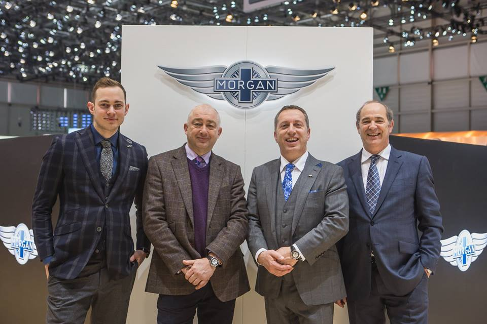 Christopher Ward and Morgan Motor Company come together for the launch.