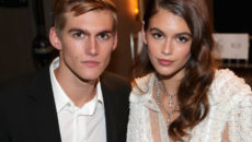 Presley Gerber and Kaia Gerber attend the Daily Front Row's Fashion Media Awards in New York (Getty Images).
