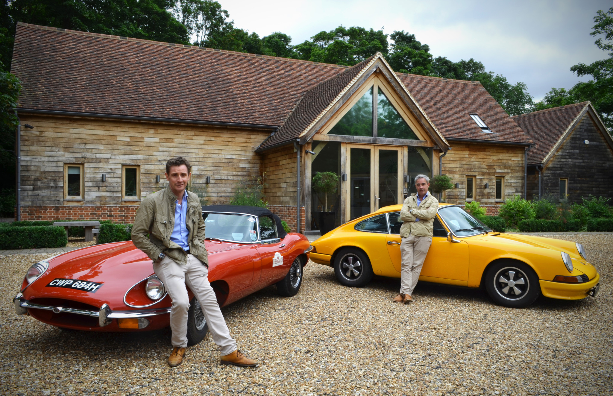 Bremont co-founders Nick and Giles English.