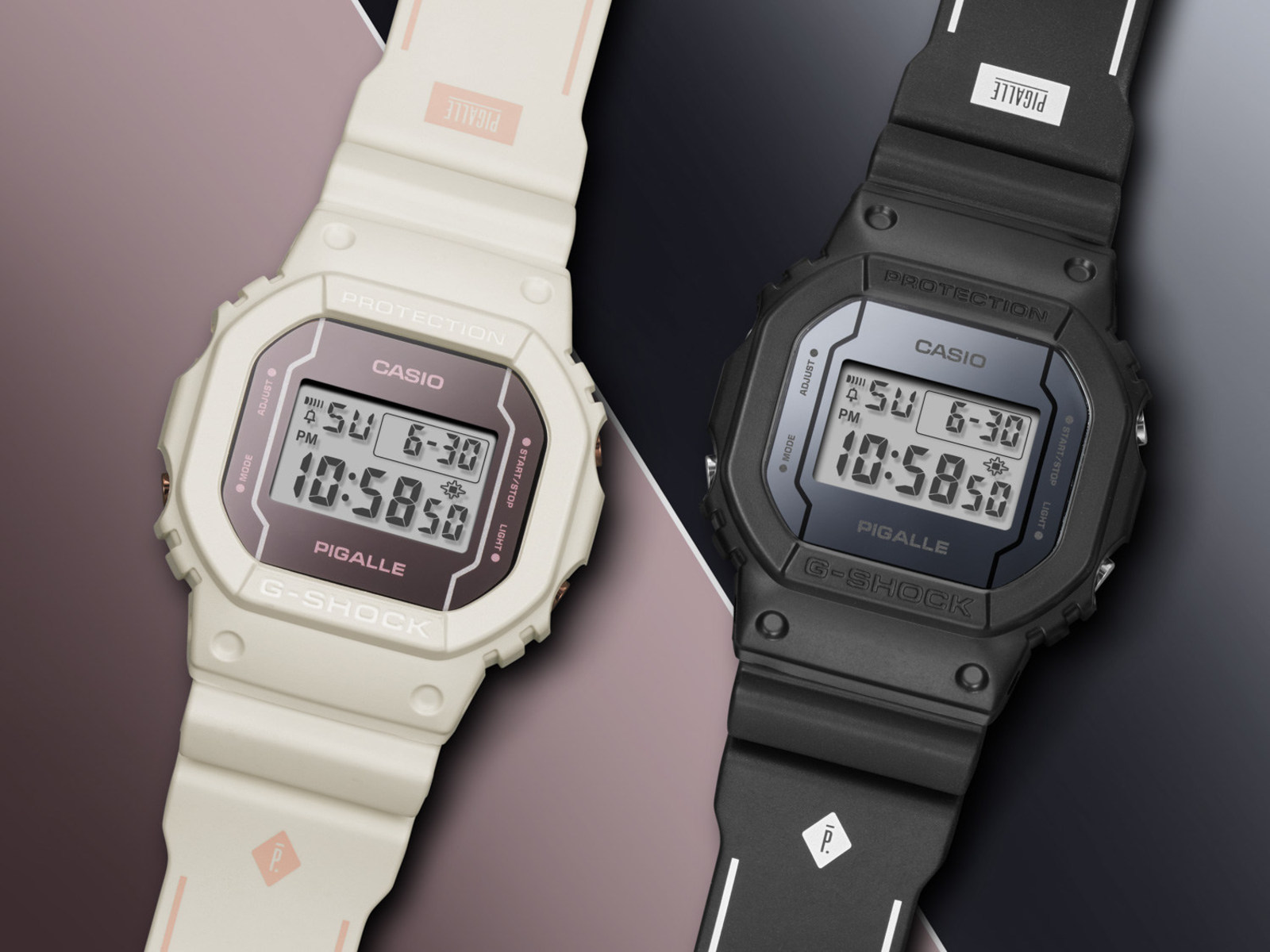 Limited Edition G-SHOCK Collaboration With French Streetwear Brand Pigalle (PRNewsfoto/Casio America, Inc.)