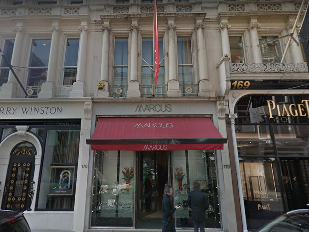 Marcus on Bond Street closed in summer 2017.