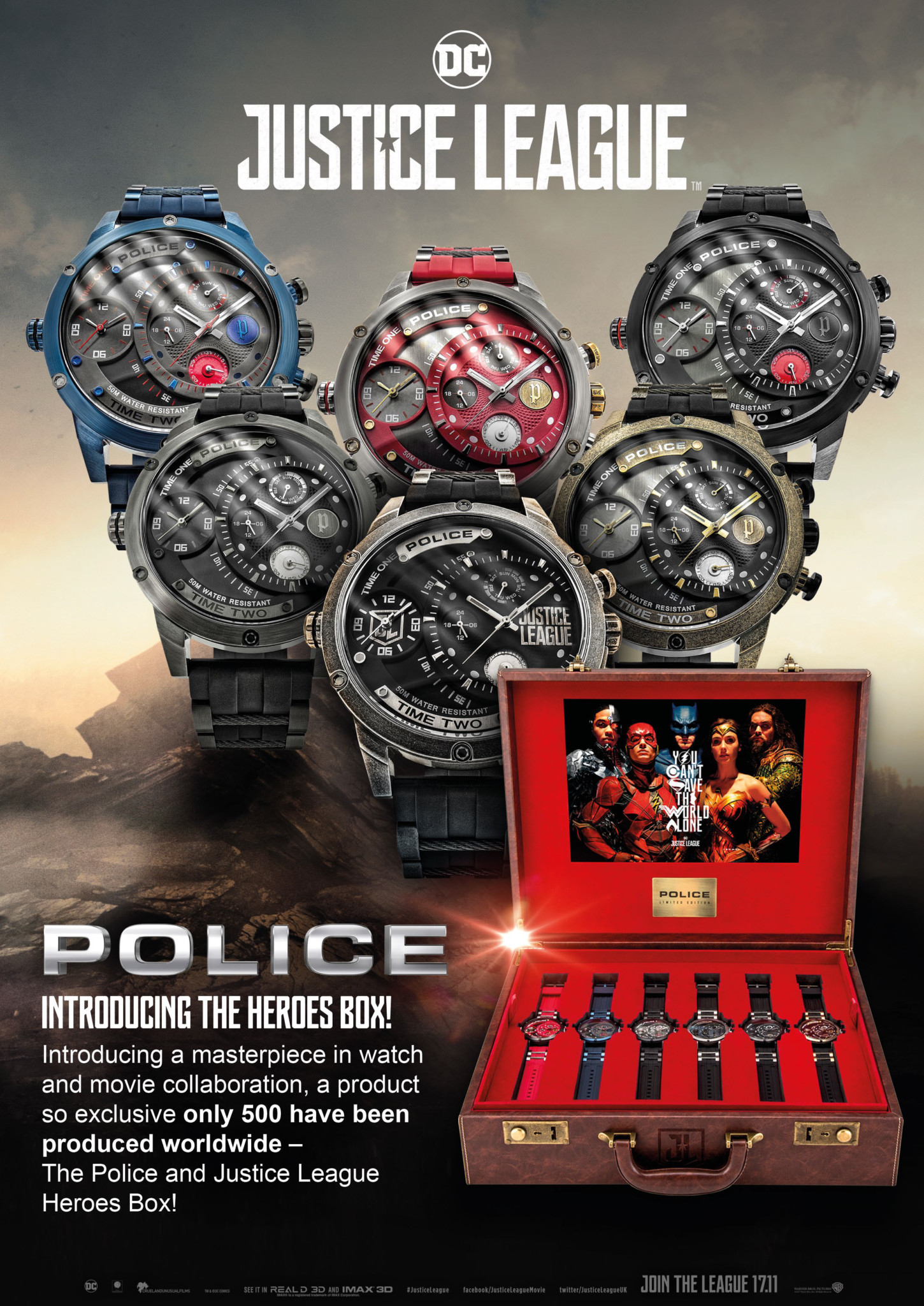 POLICE_JUSTICE_LEAGUE Heroes Box