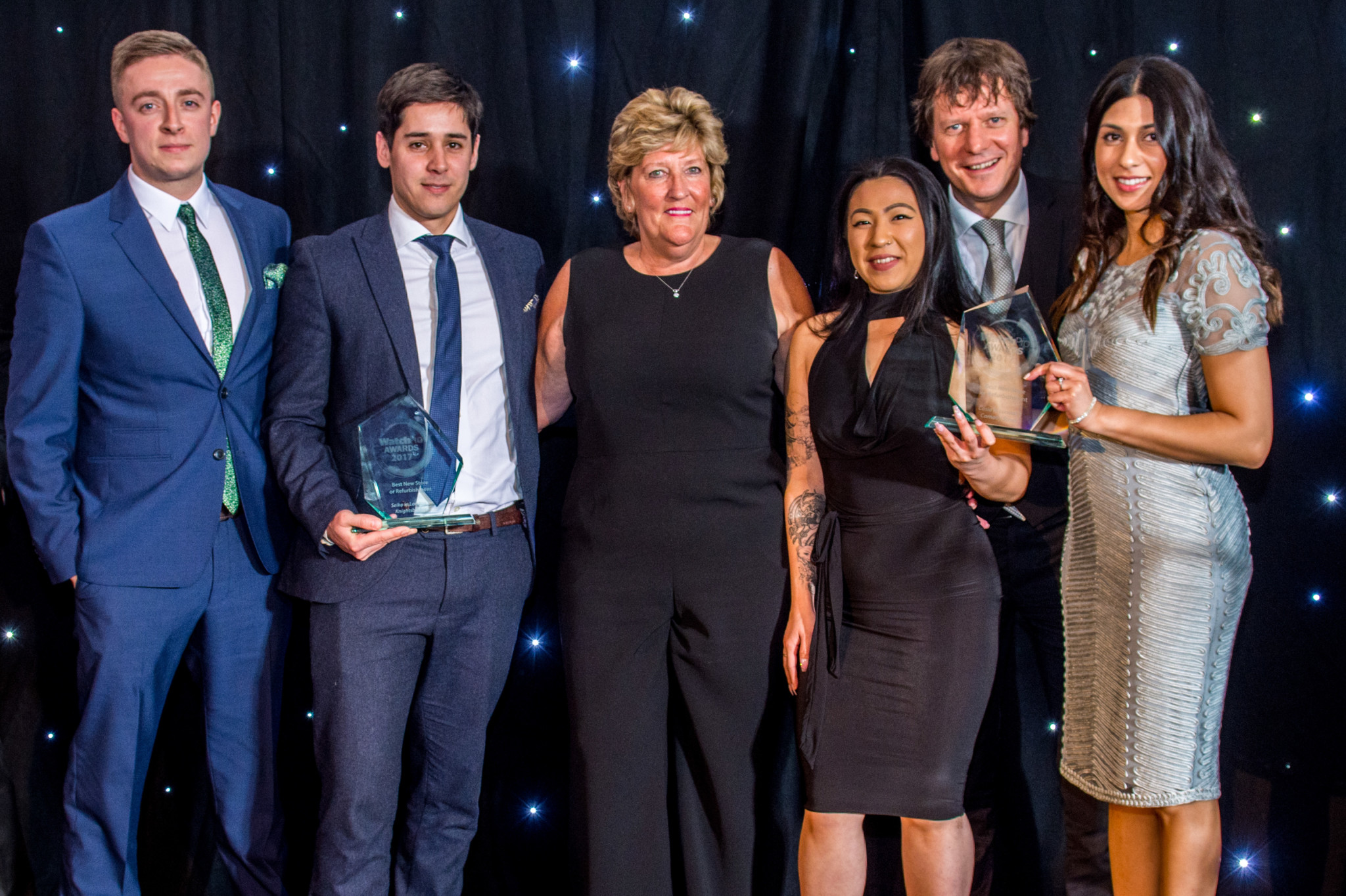 Seiko and Casio are joint winners of the WatchPro Award for Best New Store or Refurbishment.