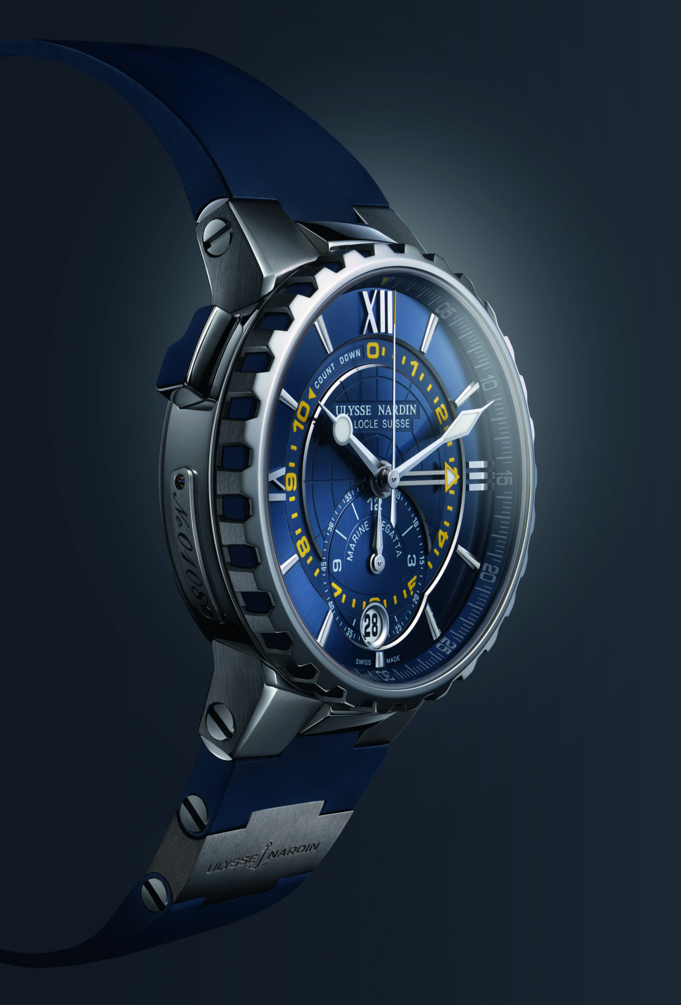Ulysse Nardin won the Sports Watch Prize for its Marine Regatta.