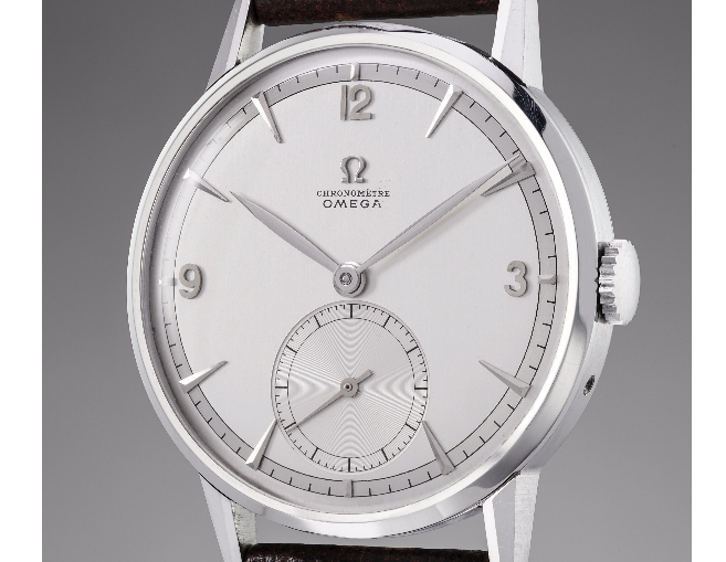 Omega auction watch