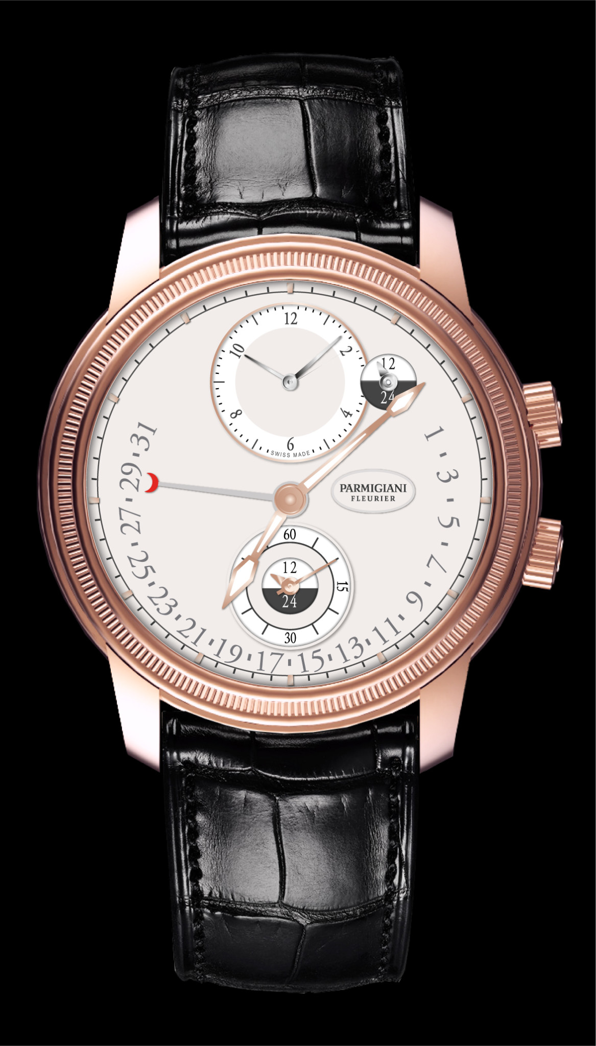 Travel Time Watch Prize: Parmigiani Fleurier, Toric Hemisphères Rétrograde.