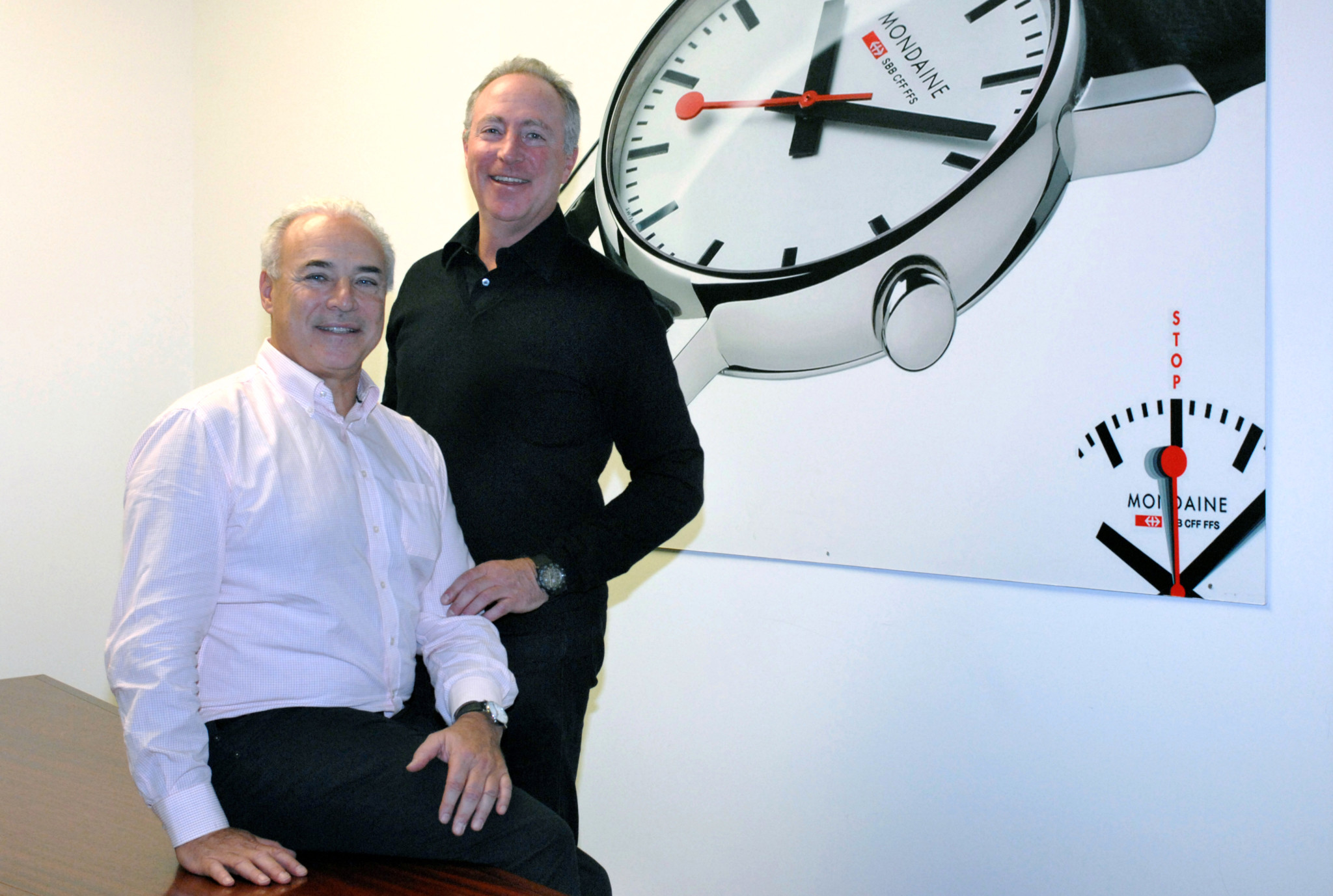 Mondaine's owners André and Ronnie Bernheim are handing control to a new executive leader.