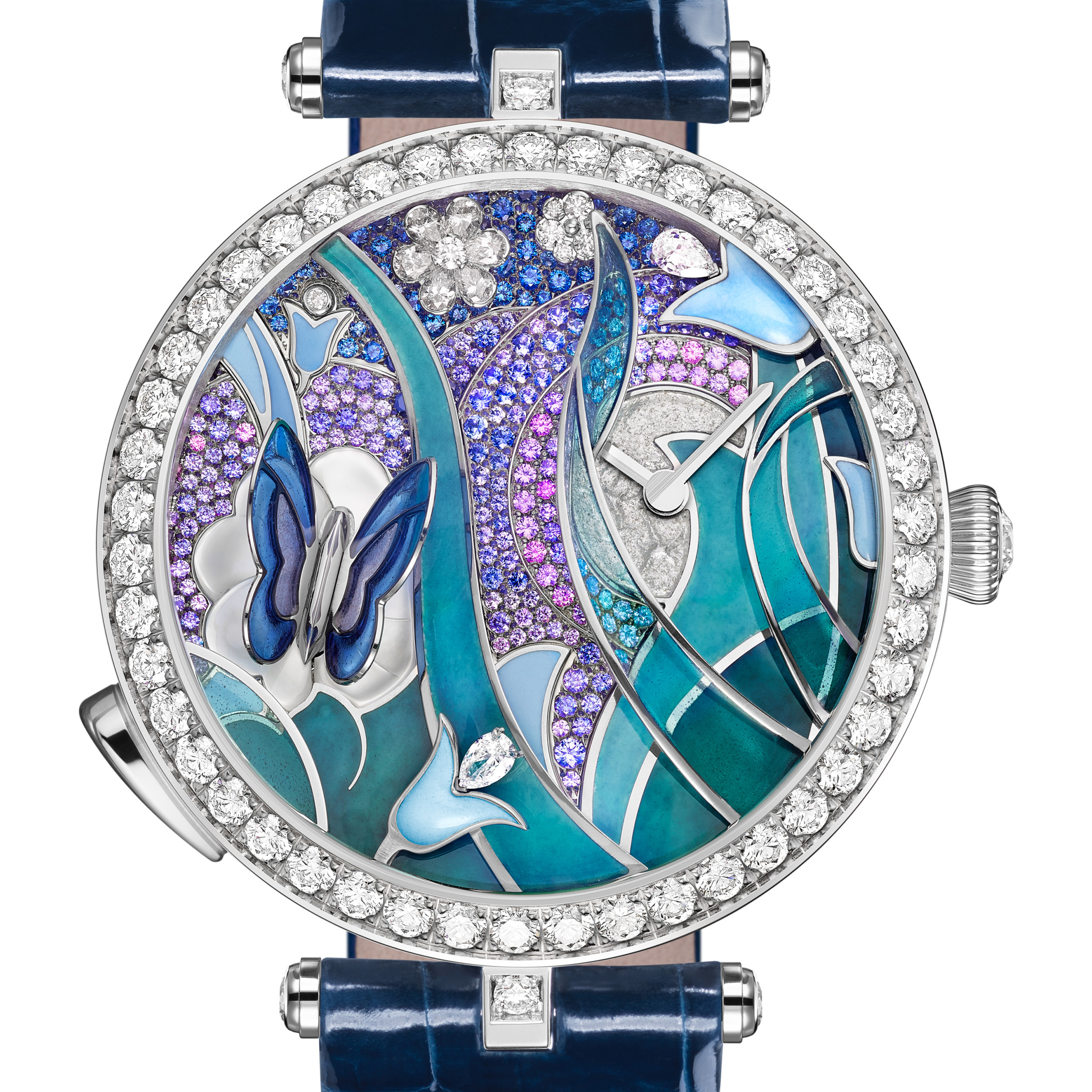 Ladies' High-Mech Watch Prize: Van Cleef & Arpels, Lady Arpels Papillon Automate.