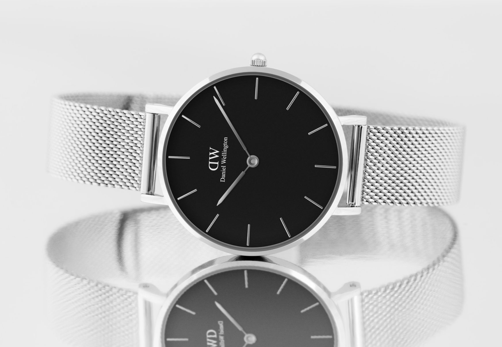 Daniel Wellington_Petite_Sterling_Black