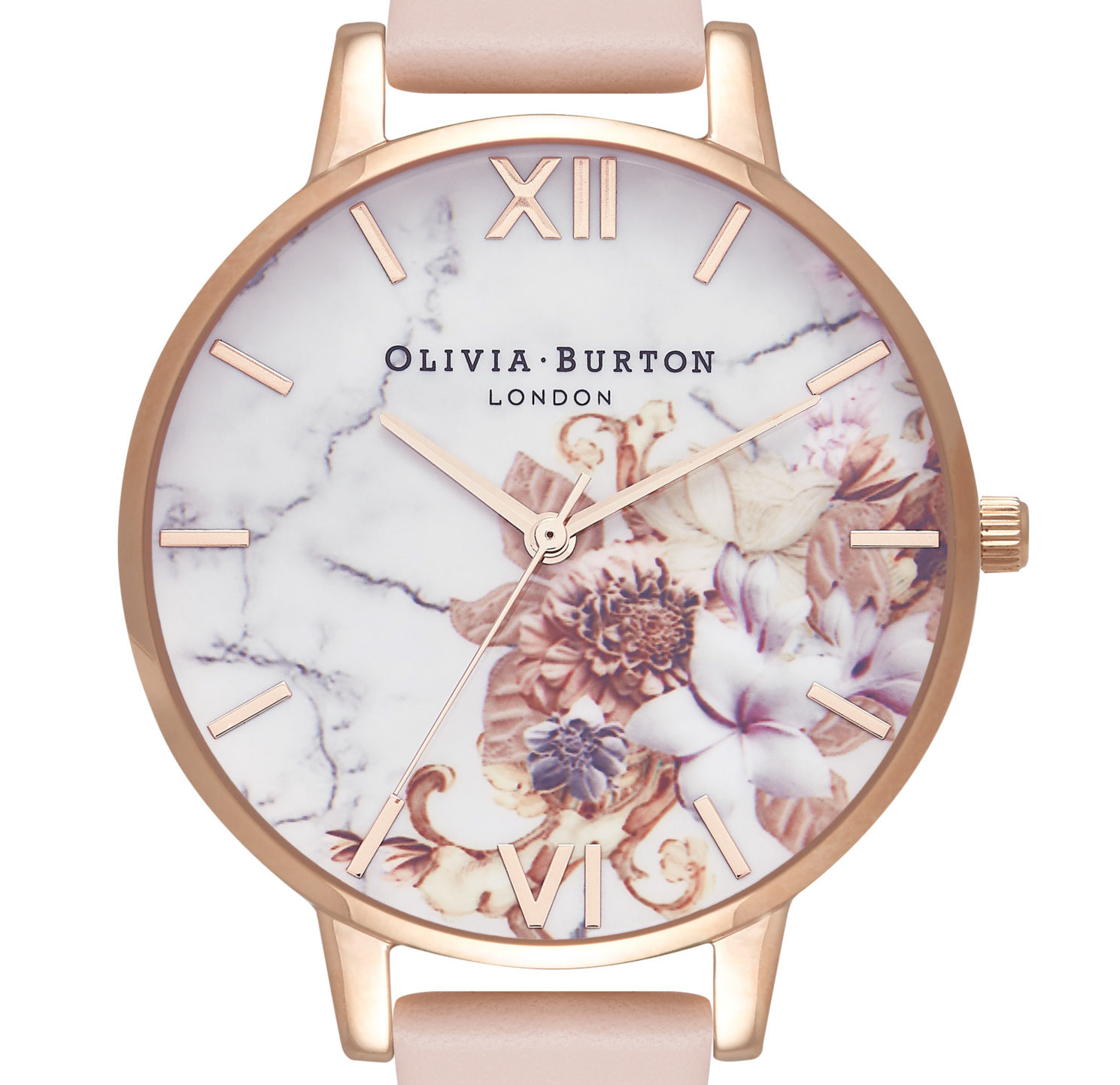 Olivia Burton marble and floral