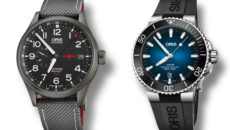 Oris GMT Rega Limited Edition and Clipperton Limited Edition dive watch.