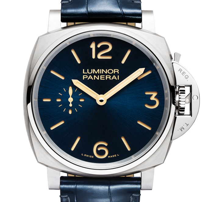 d1094627b84 AFFORDABLE LUXURY WATCHES OF THE YEAR  Panerai Luminor Due 3 Days Manual  Titanium Blue Dial