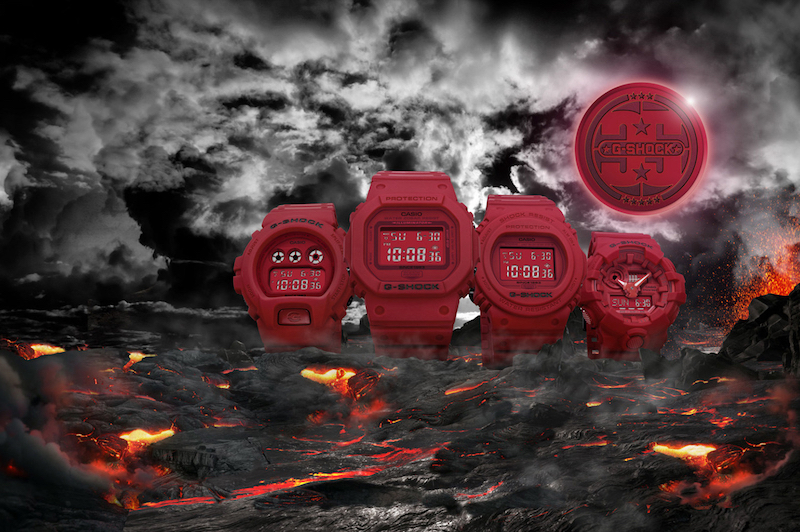 Casio G-Shock Red Limited Edition