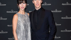 Benedict Cumberbatch and Sophie Hunter attend Jaeger-LeCoultre event alongside SIHH.  (Photo by Kristy Sparow/Getty Images for Jaeger-LeCoultre) *** Local Caption *** Benedict Cumberbatch; Sophie Hunter