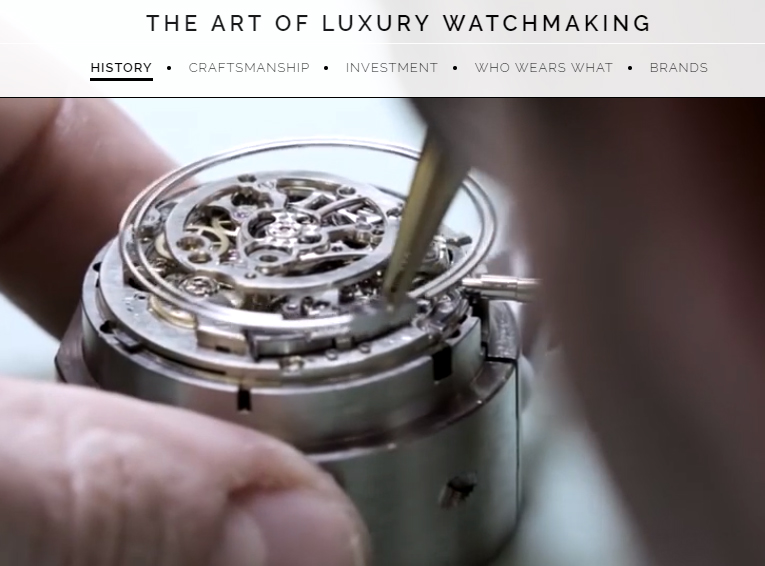 The art of luxury watchmaking at Rox