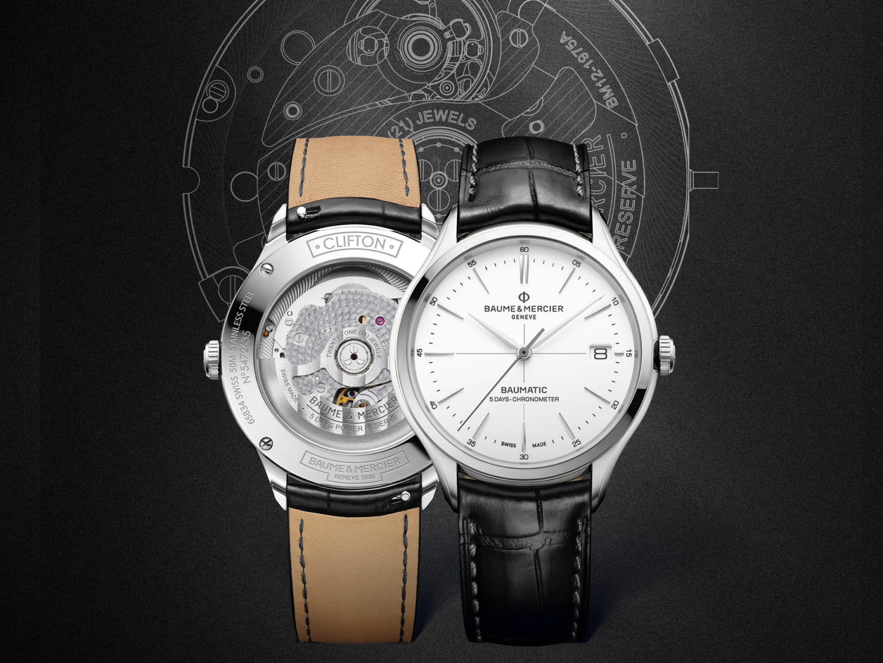 clifton baumatic baume and mercier