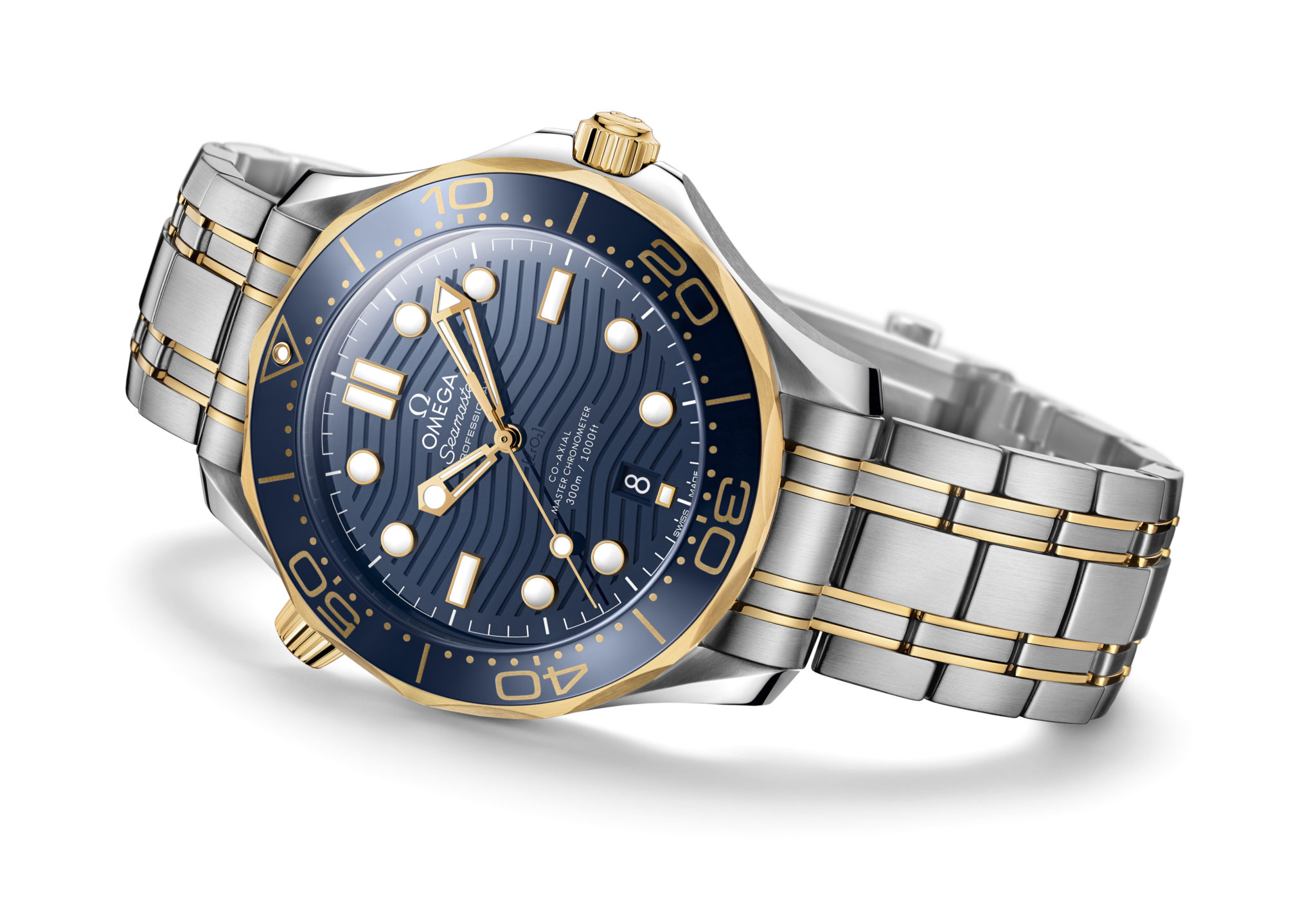 4f031bd454c Omega revives wave design on dial of 25th anniversary Seamaster Professional  Diver