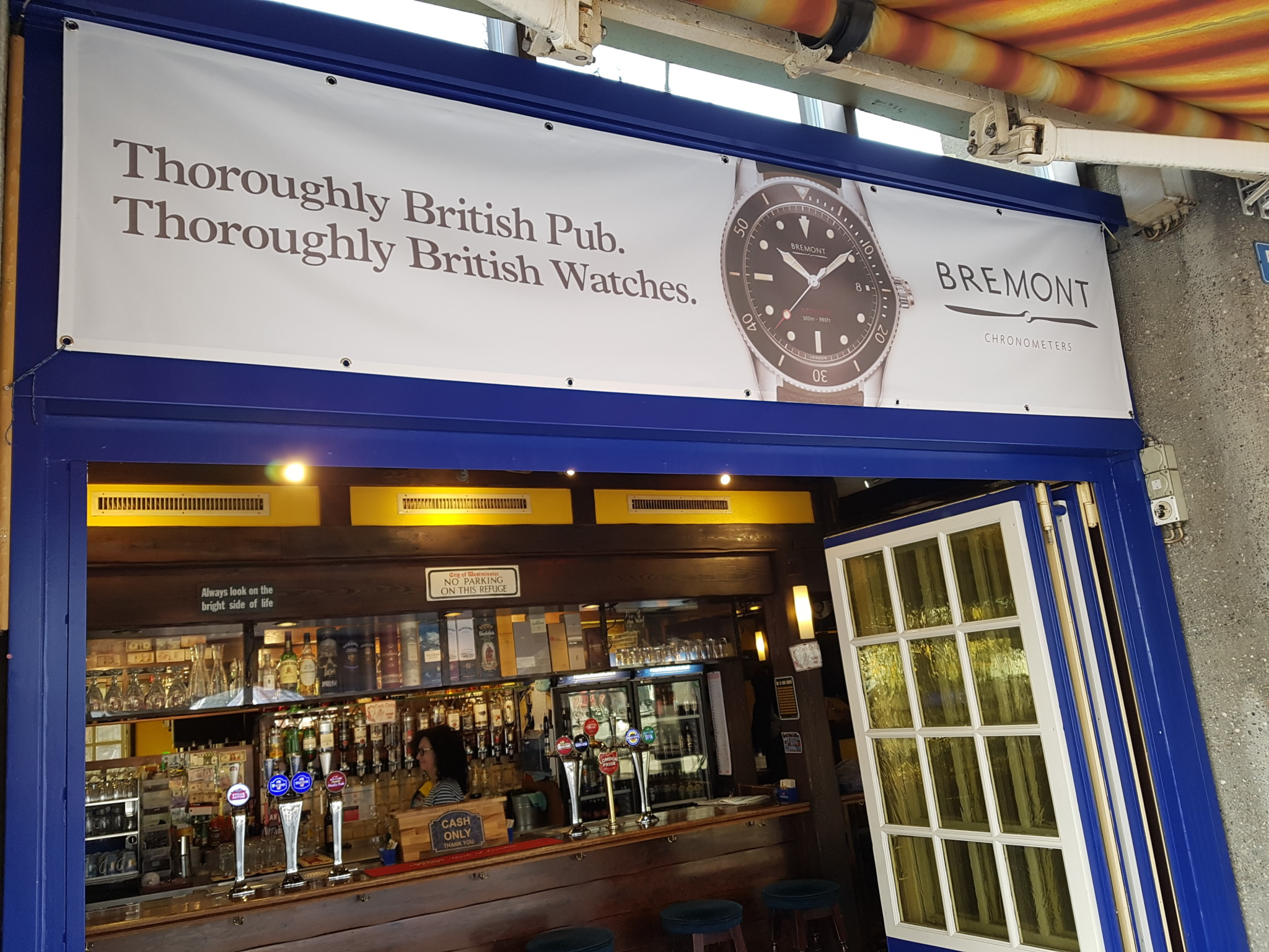 Bremont at the Pickwick