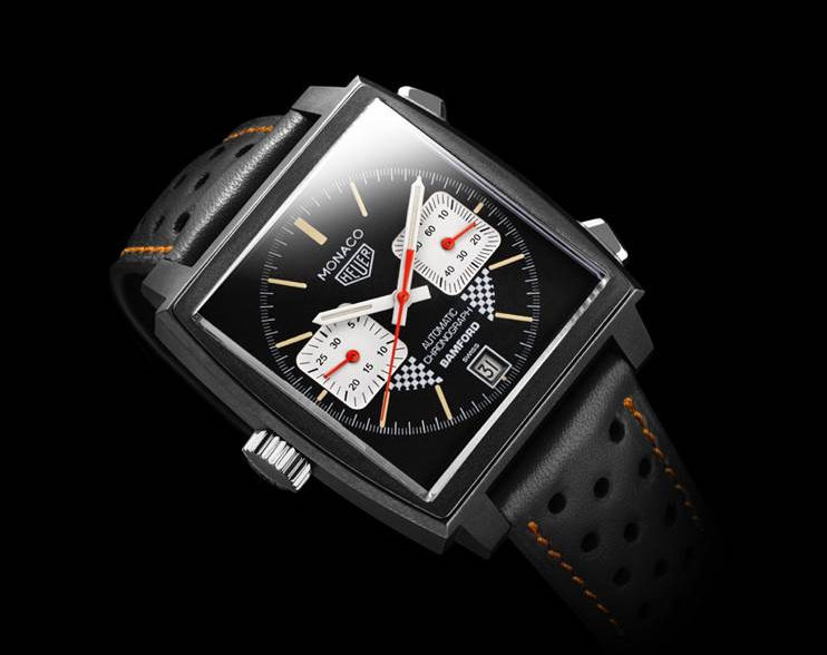 TAG Heuer Dark Lord Monaco by BWD