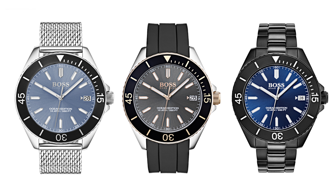 01e1ebbb635 Boss Watches hits the beach with Ocean Edition sports collection ...