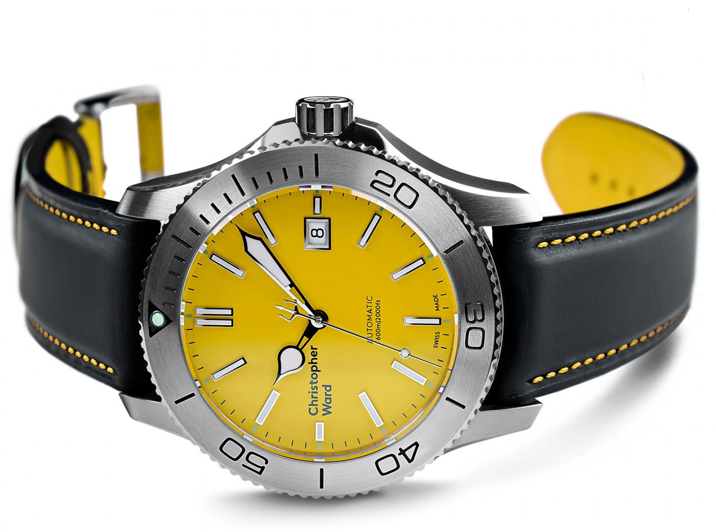 Christopher Ward C60 Trident Yellow