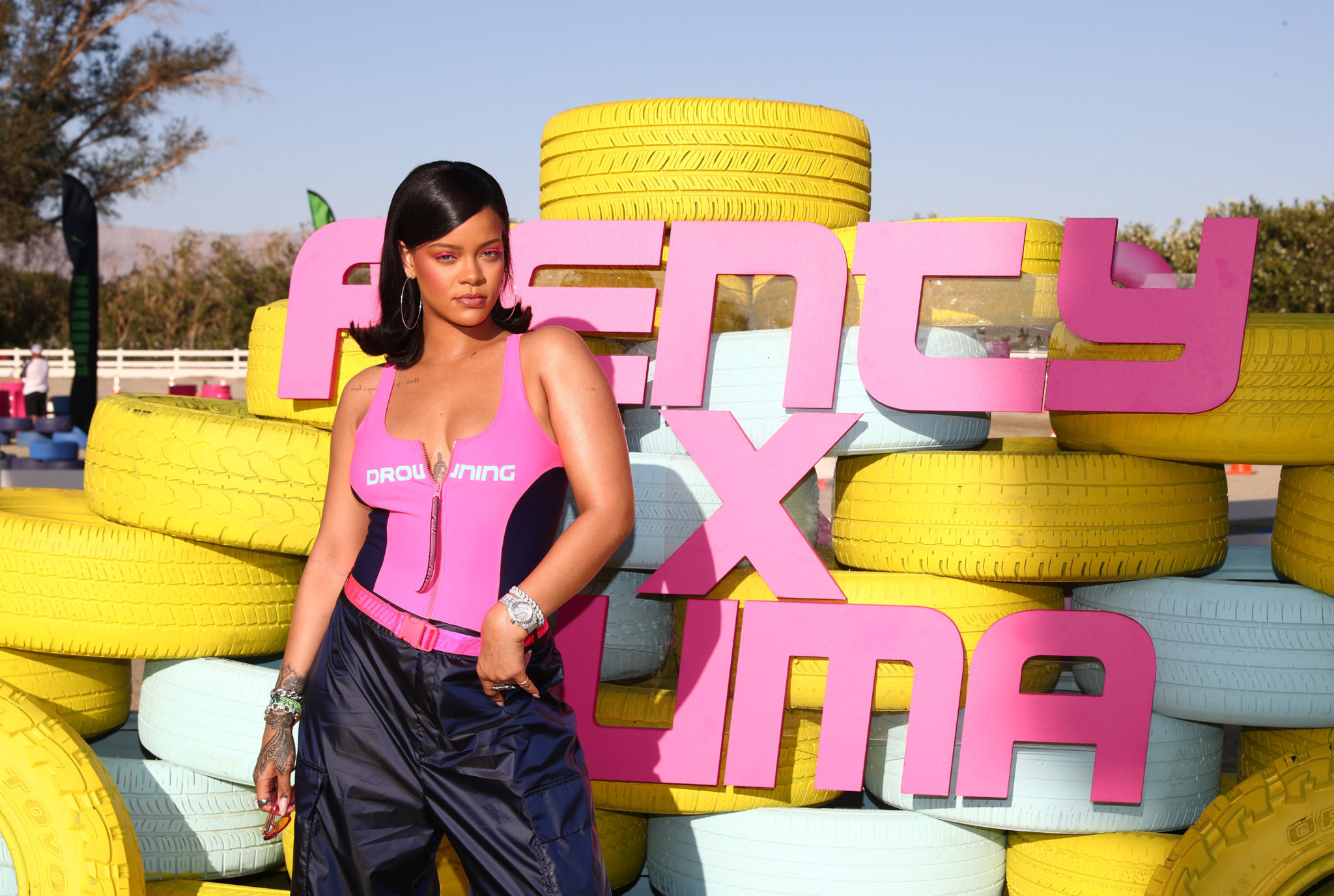 Rihanna and PUMA Gear up for Summer '18 at Coachella