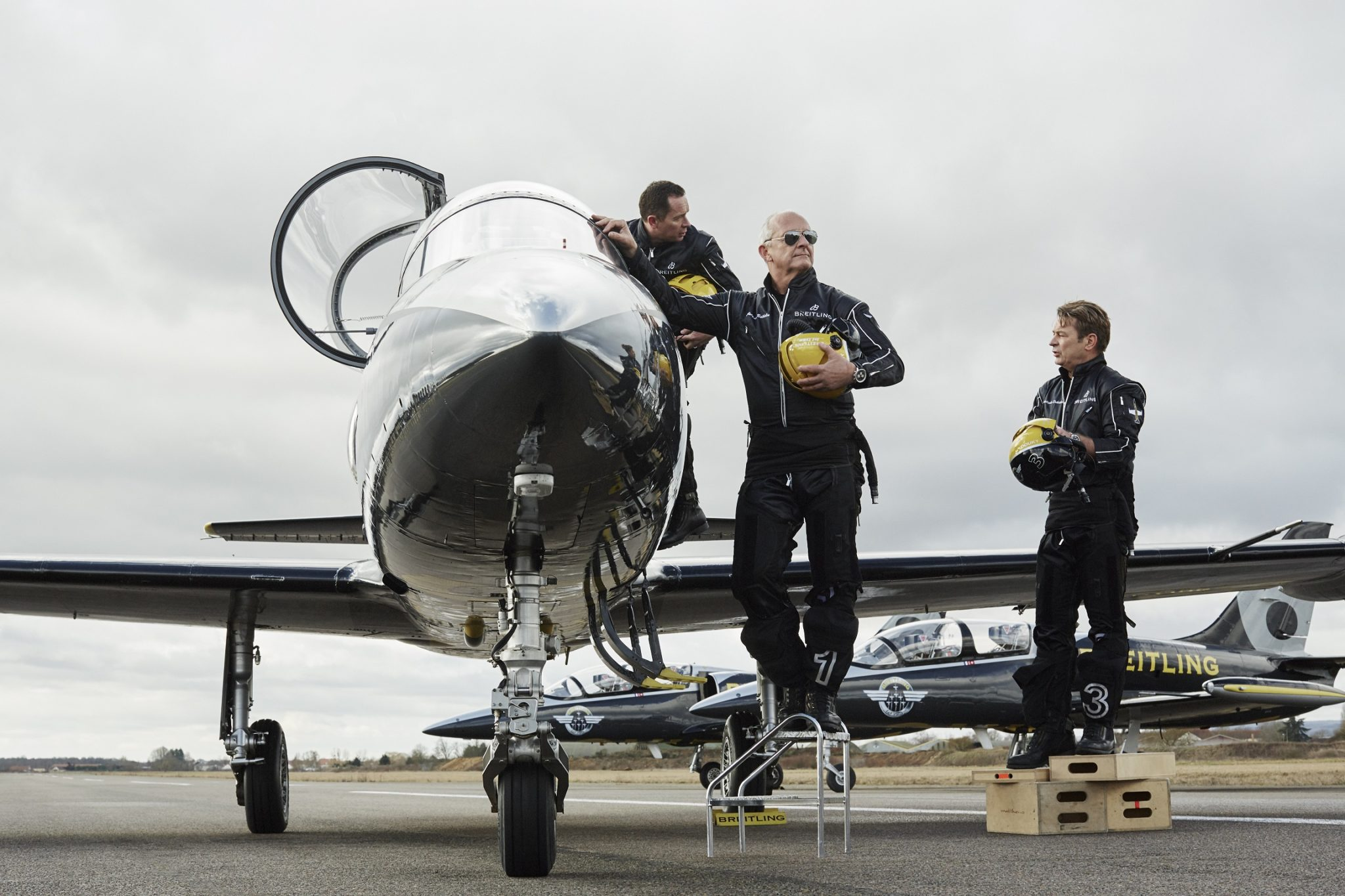 Breitling Jet Squad – Campaign Shoot – Behind The Scenes (1)