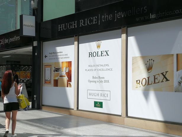 570c81455cf1a New 'Rolex Room' arriving at Hugh Rice next month - WatchPro