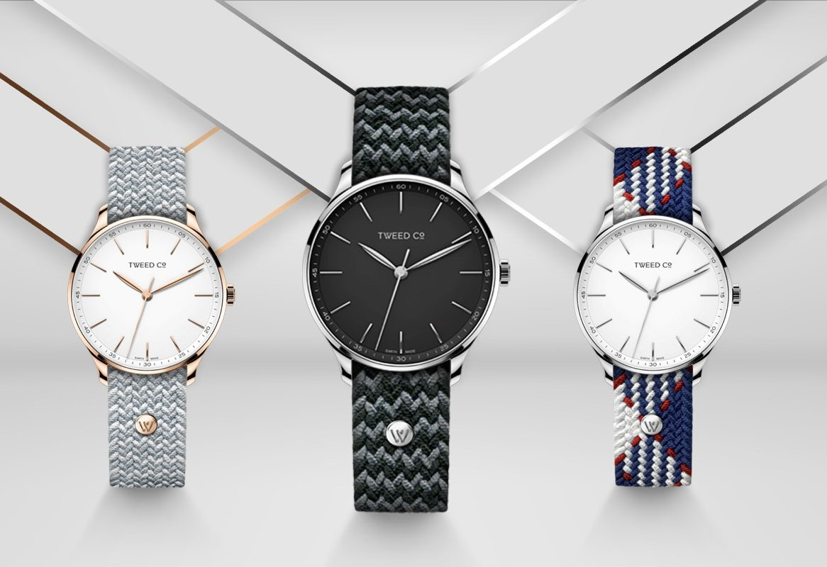 Swiss start-up Tweed Co seeks retail partners for millennial-friendly fashion watches