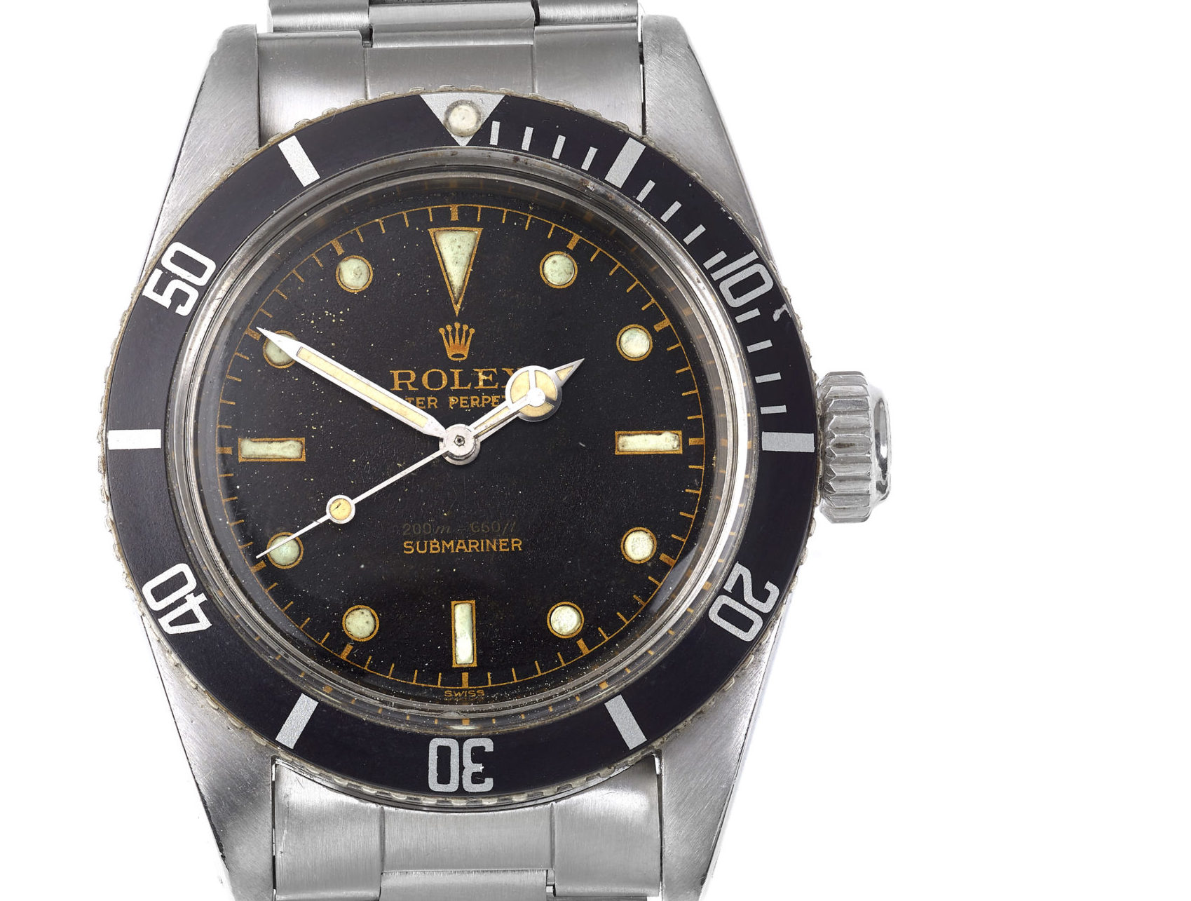 1958 007 Submariner Goes Under The Hammer At Fellows Watchpro