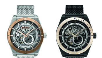 BOSS Signature Timepiece Collection Skeleton Athleisure