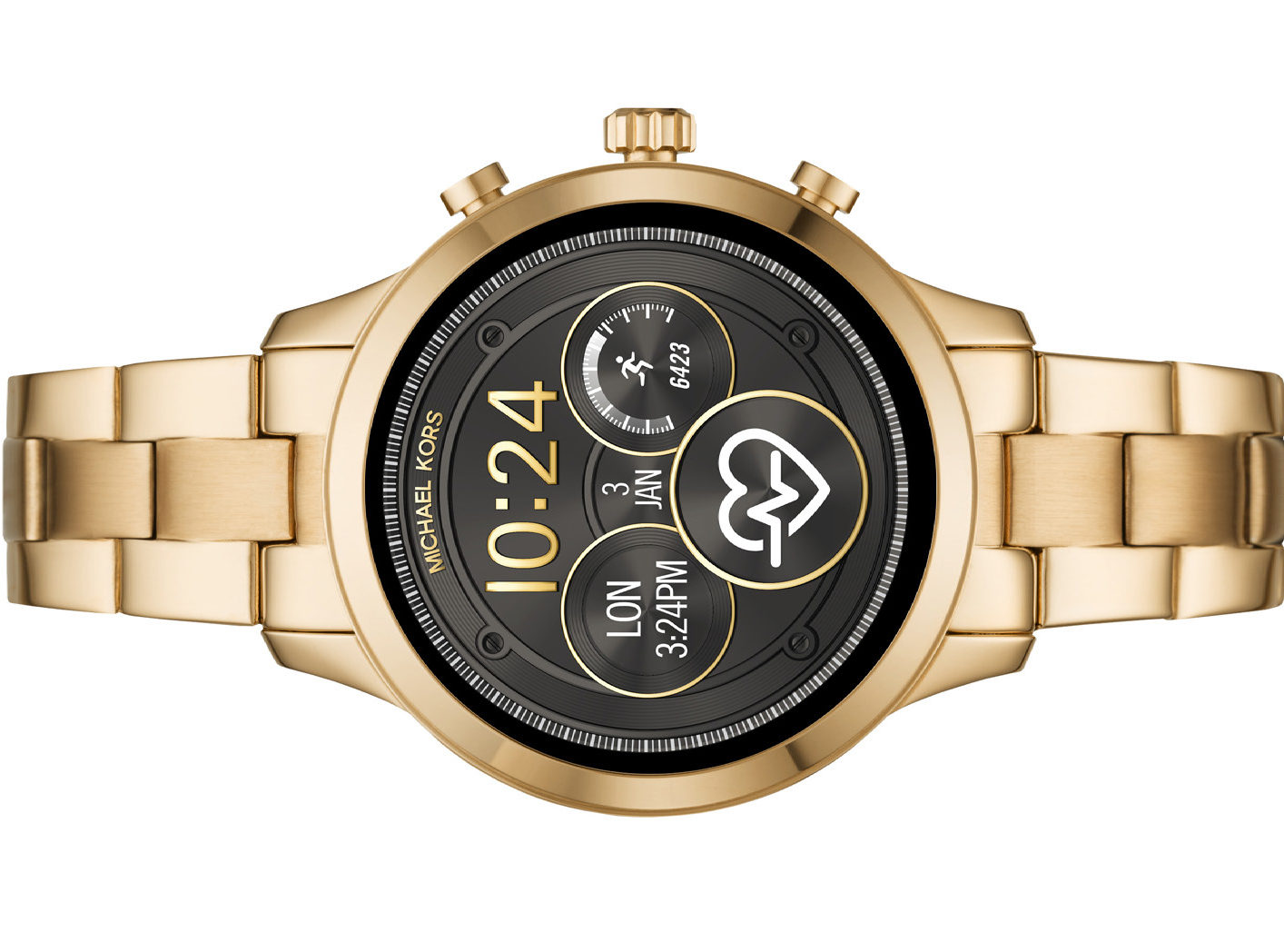 7832bebad2f0 Michael Kors creates next generation smartwatch in revived Runway style
