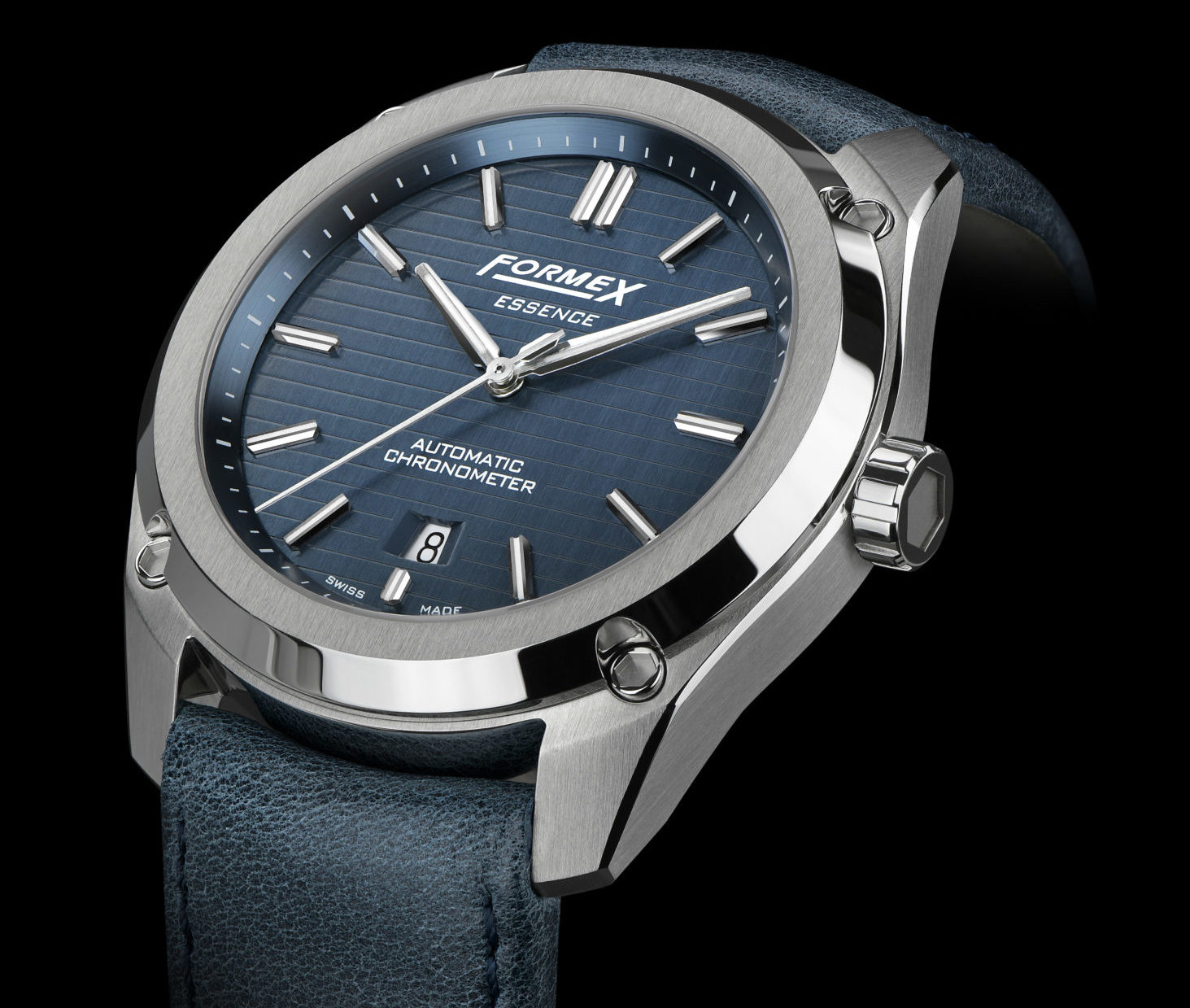 Formex Essence Automatic Chronometer Blue Side