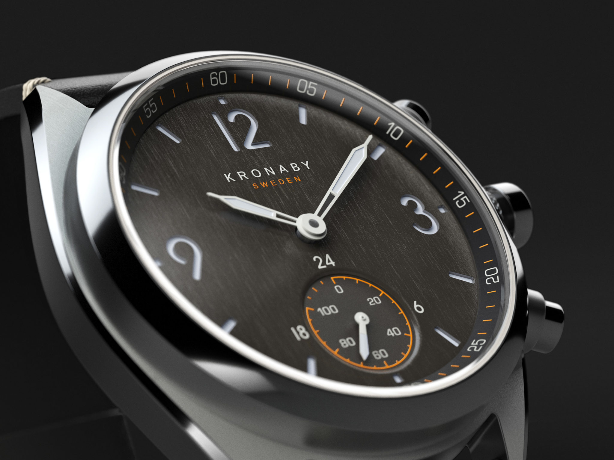 57e2f0a5b Kronaby shaves down its 2018 Apex hybrid connected watches into 41mm cases