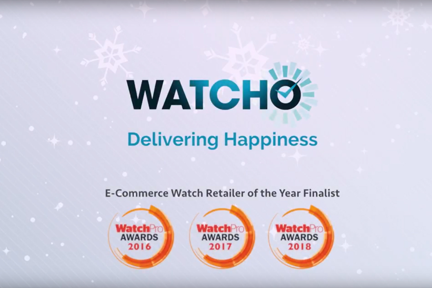 WatchO Christmas Advert