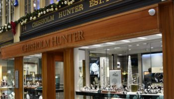 Chisholm Hunter Glasgow flagship store