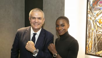 Ricardo Guadalupe and Dina Asher-Smith